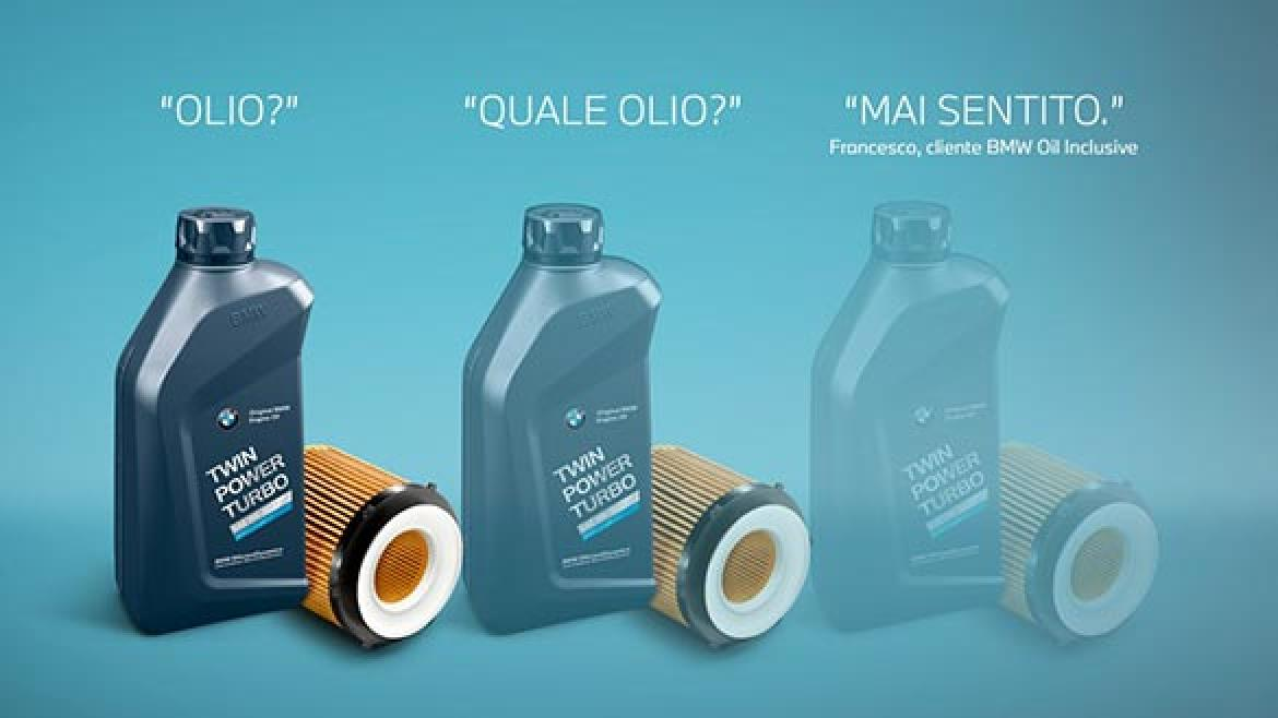 BMW OIL INCLUSIVE.